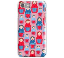 Russian Dolls iPhone Case/Skin