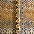 Wall Detail in St Matthias Church, Budapest, Hungary by Carole-Anne