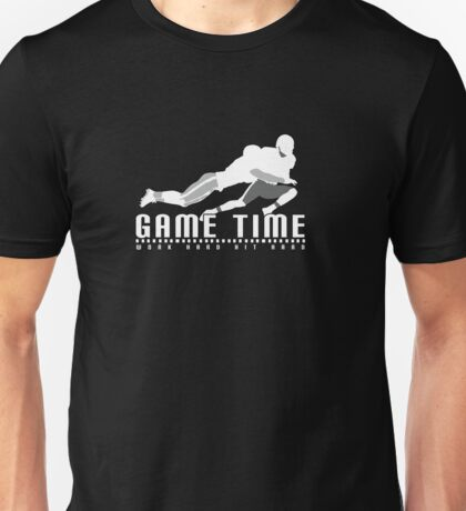 Game Time - Tackle (Black) Unisex T-Shirt