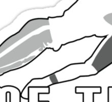 Game Time - Tackle (Black) Sticker