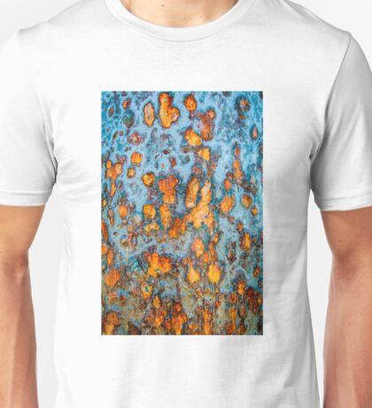 Metal rust background Unisex T-Shirt