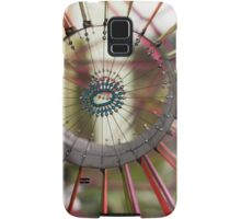 colorful kites flying in the sky Samsung Galaxy Case/Skin