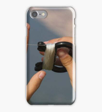 hand and kite iPhone Case/Skin