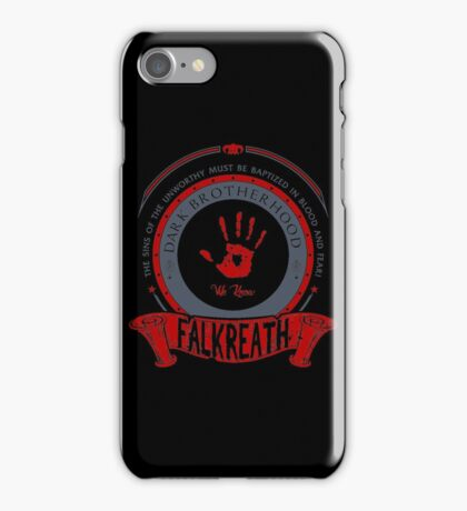 Dark Brotherhood - Falkreath iPhone Case/Skin
