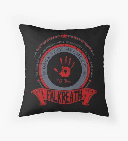 Dark Brotherhood - Falkreath Throw Pillow