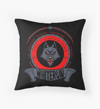 The Companions - Whiterun Throw Pillow