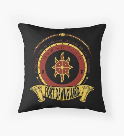 Dawnguard - Fort Dawnguard Throw Pillow