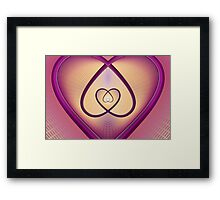The Incredible Web Of Love Framed Print