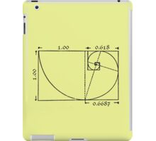 The Golden Rectangle iPad Case/Skin