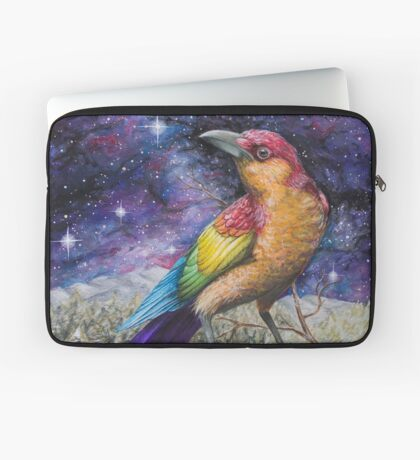 Rainbow Crow Laptop Sleeve