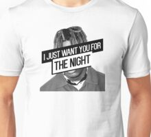 Lil Yachty- I Just Want You For the Night Lyrics Unisex T-Shirt