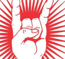 DBG Boxer Red Logo Sticker