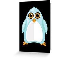 Baby Blue Penguin 2 Greeting Card
