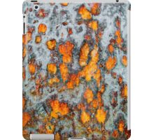 Metal rust background iPad Case/Skin