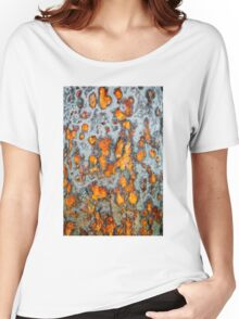 Metal rust background Women's Relaxed Fit T-Shirt
