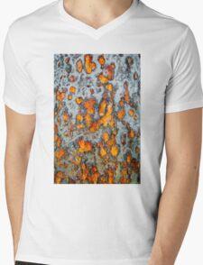 Metal rust background Mens V-Neck T-Shirt