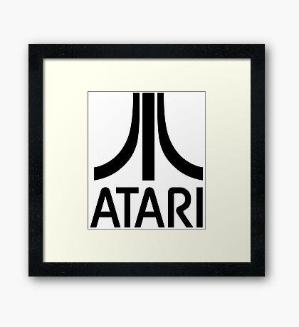 Atari Asteroids Framed Print