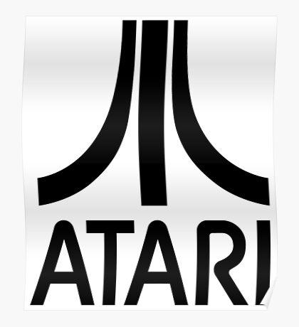 Atari Asteroids Poster