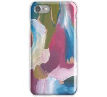 Acrylic Print -Pink/Blue/Green/White iPhone Case/Skin