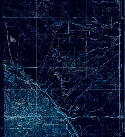 USGS TOPO Map California CA Tupman 301548 1933 31680 geo Inverted Sticker