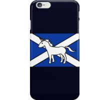 Unicorn, Scotland's National Animal iPhone Case/Skin
