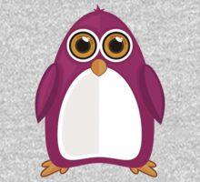 Violet Penguin One Piece - Short Sleeve