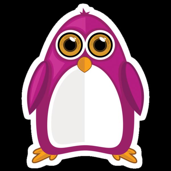Violet Penguin by Adamzworld