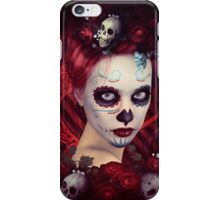 Dia De Muertos Red iPhone Case/Skin