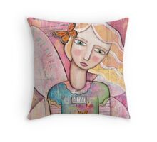 Olivia Fairy Throw Pillow