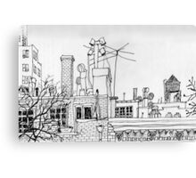 Greenwich Village Roofscape  Canvas Print