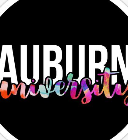 Auburn - Style 18 Sticker