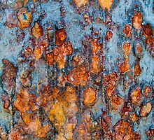 Metal rust background by Stanciuc