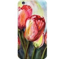Tulips Pink iPhone Case/Skin
