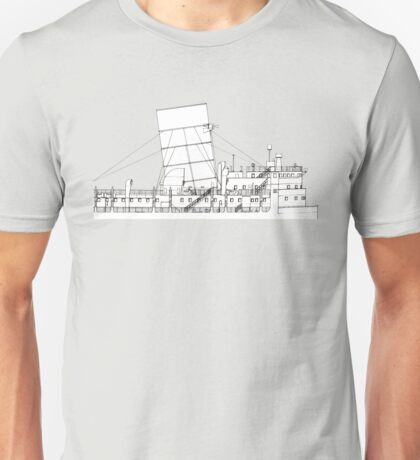 Queen Mary side plan Unisex T-Shirt