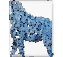 Blue Pixelated Giraffe Named Jerry iPad Case/Skin