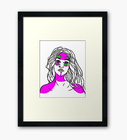 warpaint Framed Print