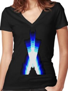 wolverineice Women's Fitted V-Neck T-Shirt