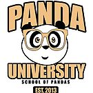Panda University - Yellow by Adamzworld