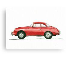 Porsche 356 B Karmann Hardtop Coupe Canvas Print