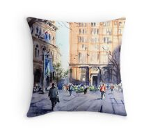 Martin Place, Sydney Throw Pillow
