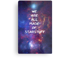 We are all made of starstuff Metal Print