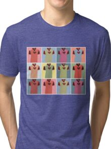 Half Man Half Biscuit - Dukla Prague Away Kit Tri-blend T-Shirt
