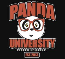 Panda University - Orange 2 Kids Clothes