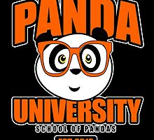 Panda University - Orange 2 by Adamzworld
