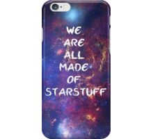 We are all made of starstuff iPhone Case/Skin