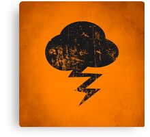 Cloud and storm Canvas Print