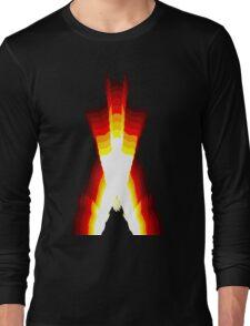wolverine fire Long Sleeve T-Shirt