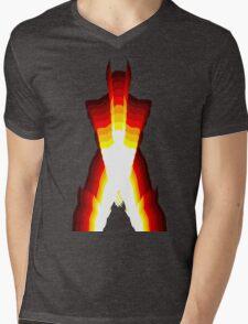 wolverine fire Mens V-Neck T-Shirt