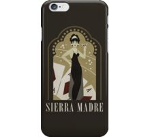 Sierra Madre Poster Design iPhone Case/Skin