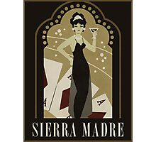 Sierra Madre Poster Design Photographic Print